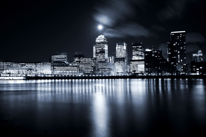 night view london