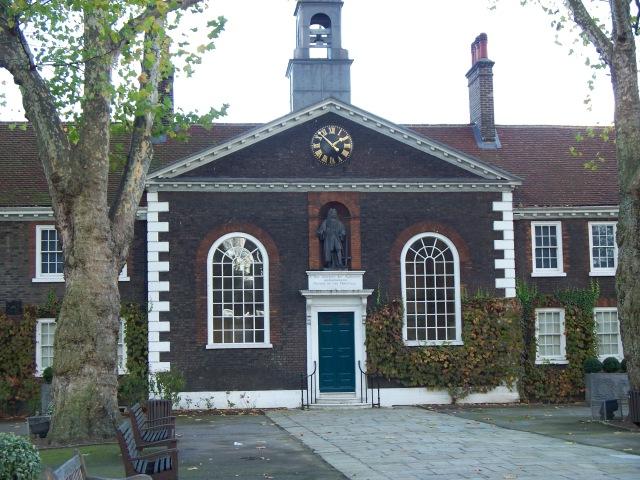 Geffrye Museum entrance