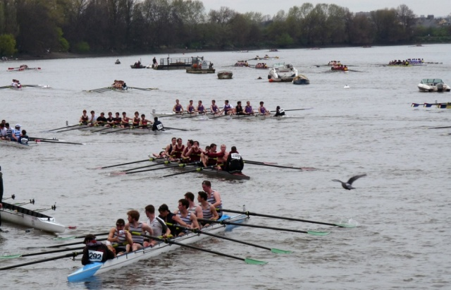 head of river race -boats