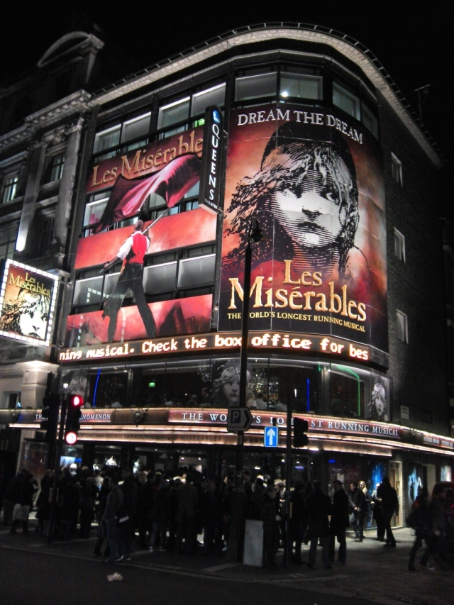 Les Miserables Shows in London