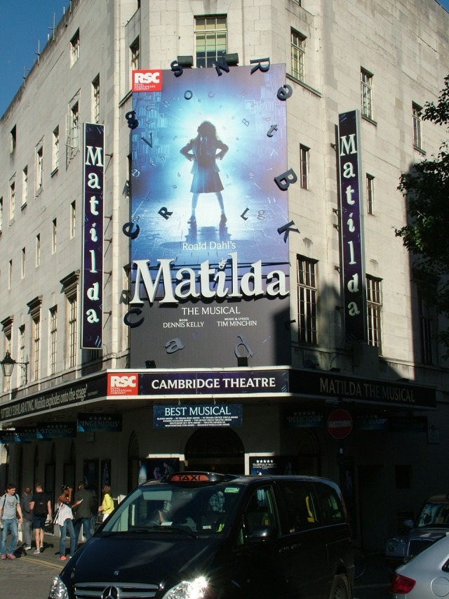 matilda in theatres