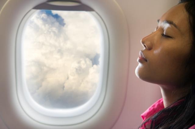 Sound sleep at flight tips