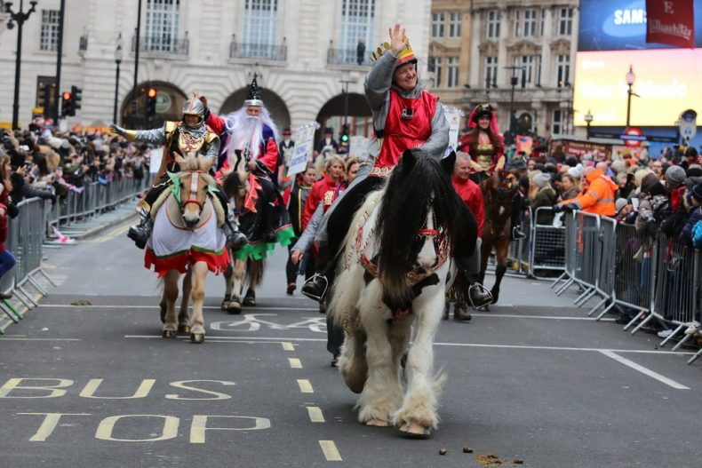 Central London New Year Parade