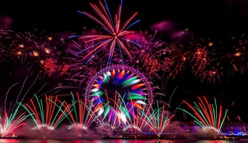 London New Year Eve Fireworks