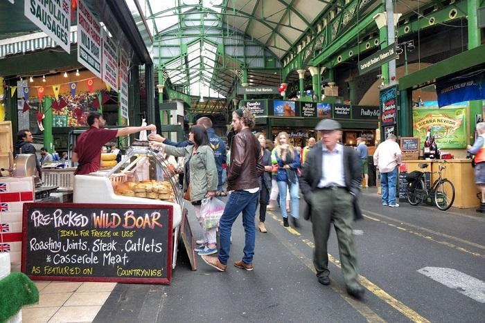 Londn street market