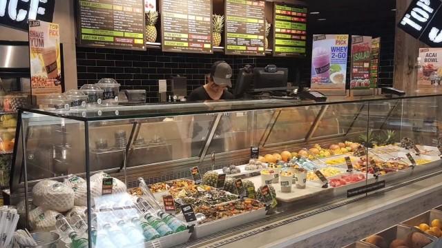 Sydney central food court